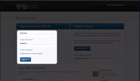 time warner cable pay by phone time warner cable bill pay mycheckweb