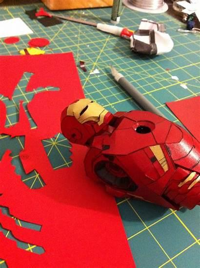 Iron Paper Papercraft Replika Pdf Paperreplika Wrightworks
