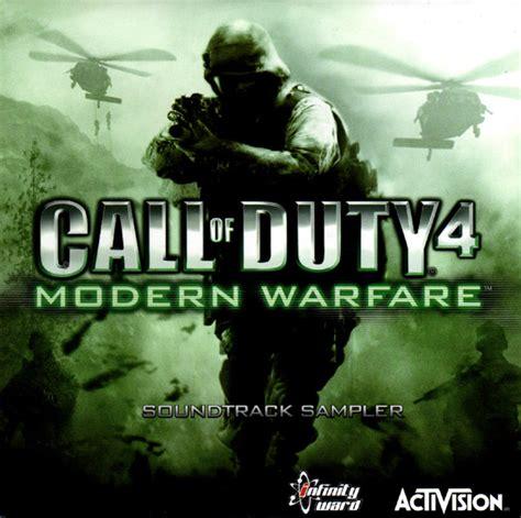 call  duty  modern warfare soundtrack sampler