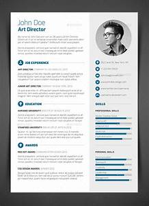 3 Piece Resume CV Cover Letter by bullero