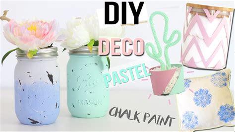 diy chambre diy deco 4 deco pastel chambre bureau chalk paint