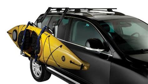 thule kayak rack for 2 kayaks thule 897xt hullavator kayak roof rack mount carrier buy