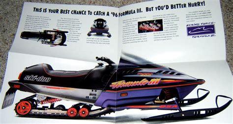 formula 3 skidoo image gallery 1996 ski doo formula 3