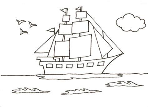 Imagenes De Barcos Sin Pintar by Dibujos Para Pintar Y Colorear De Barcos