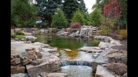 backyard recreation pond youtube