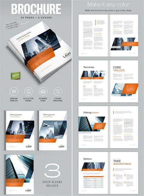 brochure template  indesign   letter brochures