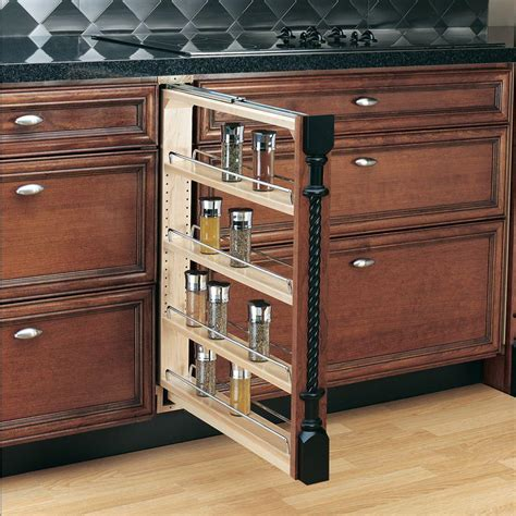 kitchen cabinet bookshelf rev a shelf 30 in h x 3 in w x 23 in d pull out between 2371