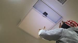 Led panel light ceiling frame kit