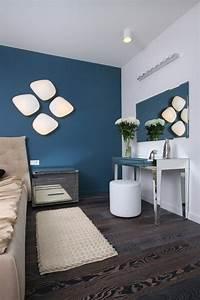 Petrol Wandfarbe Schlafzimmer : schlafzimmer dekorieren wandfarbe petrol blau wandleuchten zuk nftige projekte pinterest ~ Buech-reservation.com Haus und Dekorationen