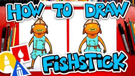 draw fishstick  fortnite