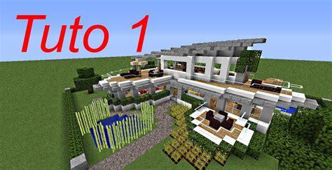 maison moderne minecraft a telecharger minecraft tutoriel maison moderne 1 3