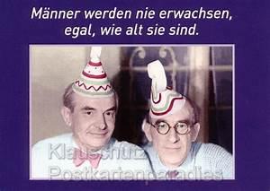 Geburtstag Männer Bilder : m nner werden nicht erwachsen postkarte ~ Frokenaadalensverden.com Haus und Dekorationen
