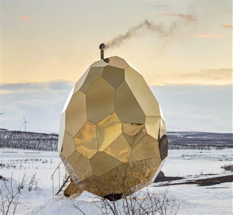 solar egg invites reflection   american swedish