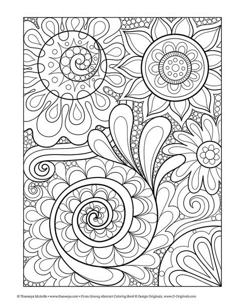 54 best Coloring Pages (Thaneeya McArdle Art) images on