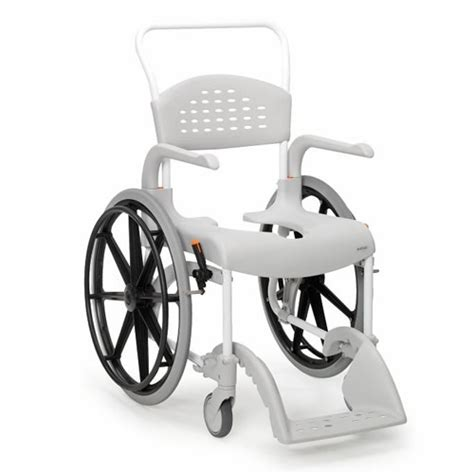 chaise de clean etac clean self propelled shower commode chair etac clean shower commode chairs complete