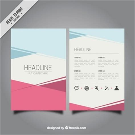 21052 it resume template brochure template vectors photos and psd files free
