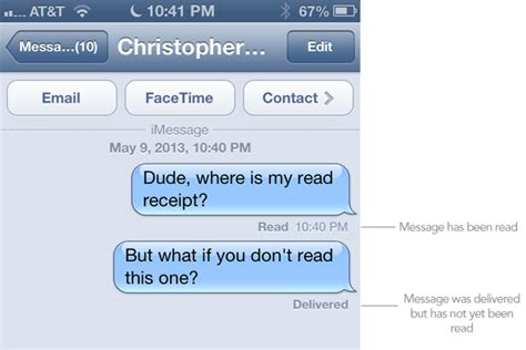 How To Get Read Receipts In Imessage