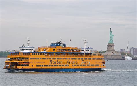 Ferry Boat New York by Staten Island Ferry
