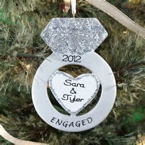 gold wedding rings engagement ring xmas ornament