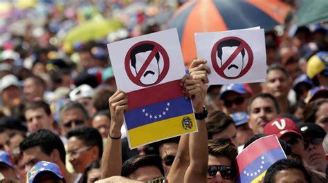 EN IMAGES. Venezuela: face à la grève, Maduro relève le ...