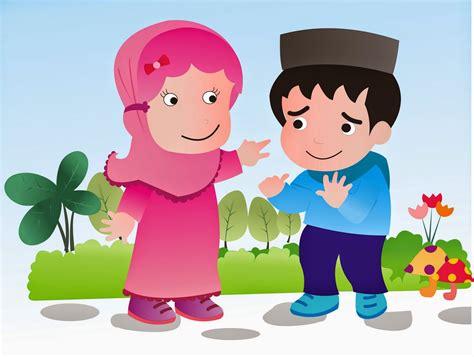 koleksi gambar kartun islami terbaru
