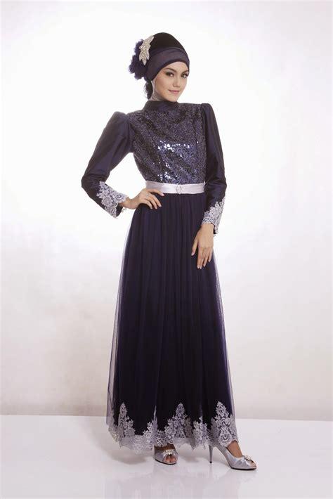 model baju gamis pesta cocok  muslimah fashionable