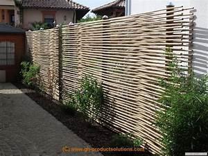 Bambus Sichtschutz Selber Bauen : 111 besten z une bilder auf pinterest g rtnern holz und holzarbeiten ~ Markanthonyermac.com Haus und Dekorationen