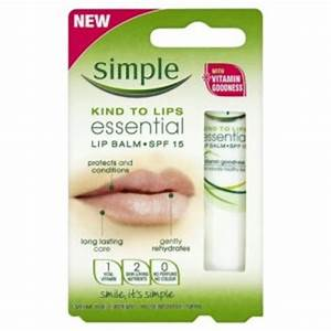 free simple lip balm sample free stuff finder uk With free lip balm samples