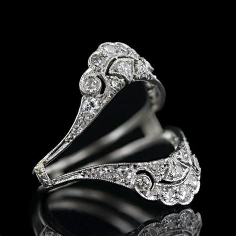 wrap around engagement rings durham rose