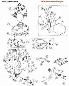Western Ice Breaker Drive Parts Serial  0806  U0026 Higher