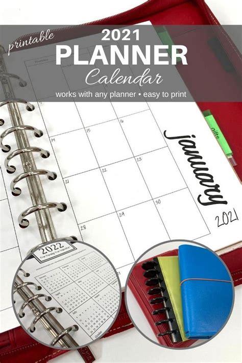 Pretty 2021 calendar free printable template. 2021 Planner Calendar PRINTABLE PDF   Etsy   Planner ...