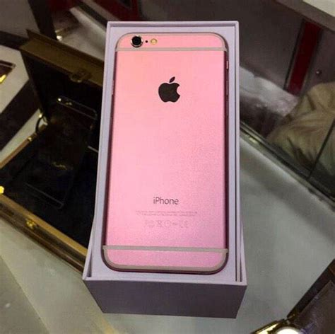 iphone 6 pink apple pink iphone 6 image 2333379 by