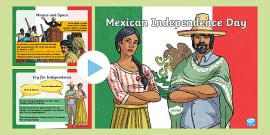 Mexican Independence Day PowerPoint Quiz (teacher made)