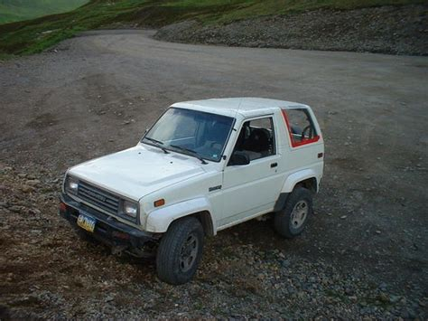 1990 Daihatsu Rocky by Alaskamax 1990 Daihatsu Rocky Specs Photos Modification