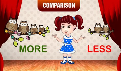 More And Less  Comparison For Kids  Learn Preschool Concepts With Siya  Part 5 Youtube