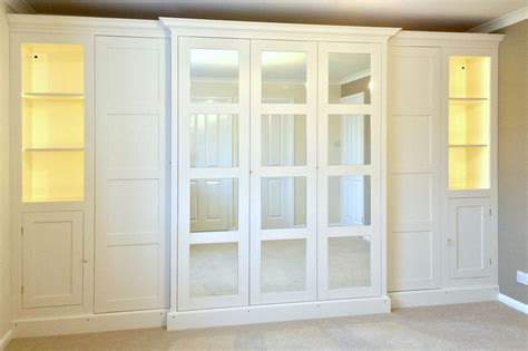 Fitted Wardrobe Doors by The 25 Best Ikea Fitted Wardrobes Ideas On