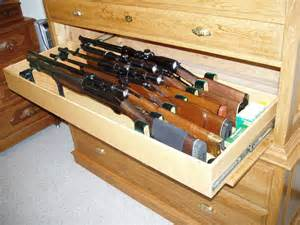 Magnetic Lock Kit For Cabinets by Gun Cabinet Disguised As A Dresser