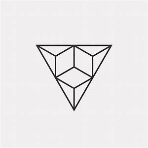 A new geometric design every day . Triangles . Minimal ...