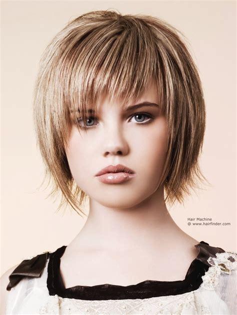 Choppy Full Fringe Hairstyles Fade Haircut