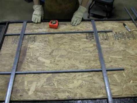 weld welding security bars    jigs youtube