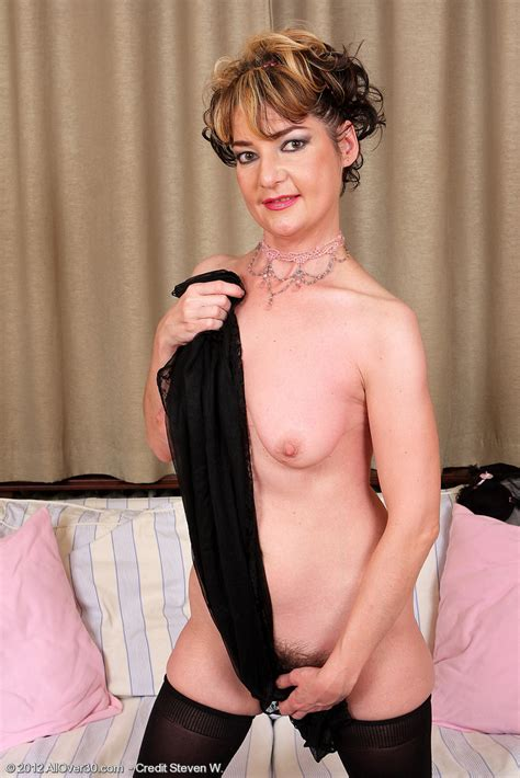 lovely milf eszti flaunt her hairy kitty milf fox