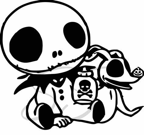Zero the dog the nightmare before christmas svg, zero the dog svg, cutting files for cricut silhouette, instant download. Baby Jack Skellington SVG Nightmare Before Christmas ...