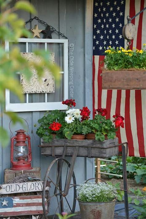 Fourth July Porches Patios Pinterest