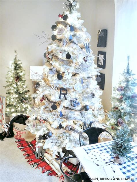 Ideas Decorating White Tree by Tree Decorating Ideas Best Ideas
