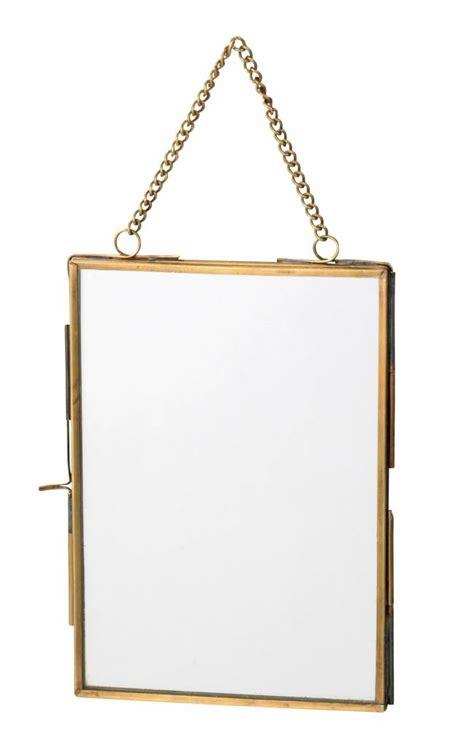 cadre photo verre sans cadre broste copenhagen cadre photo jakob verre et laiton