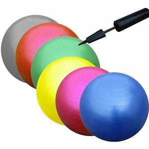 Sitzball Als Bürostuhl : gymnastikball 65 cm sitzball fitnessball b rostuhl ball mit pumpe gymnastik ebay ~ Whattoseeinmadrid.com Haus und Dekorationen