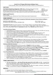 resume of a telecom project manager telecom experience resume format