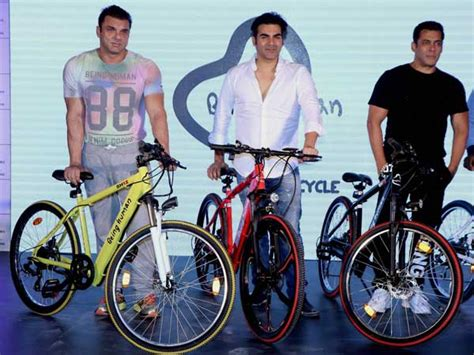 Salman Khan Launches Being Human E-cycles