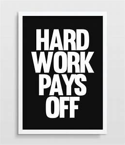 Office Art Decor, Inspirational Quote, Typographic Print ...