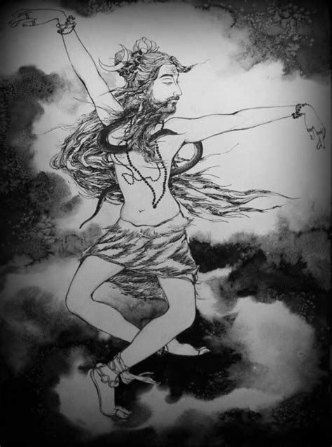 Dancing Shiva by Tanushree Gosh | Dancing shiva, Sketches
